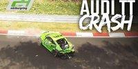 24 Nürburgring: Der Horrorcrash von Rudi Speich