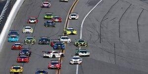 24h Daytona: Chaos am Start
