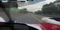 24h Le Mans 2018: Alonsos erste Runden im Training