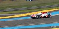 24h Le Mans 2018: Bestzeit des Toyota #7