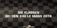 24h Le Mans: Alle Klassen