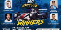 24h Le Mans virtuell: Sieg für Rebellion/Williams