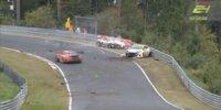 24h Nürburgring 2020: Unfall Opel vs. Porsche