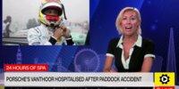 24h Spa 2021: Fahrerlager-Unfall von Laurens Vanthoor