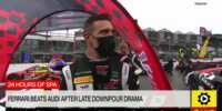 24h Spa 2021: Ferrari bezwingt Audi im Regen