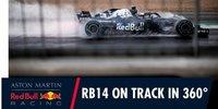 360 Grad: Ricciardos erste Runde im RB14