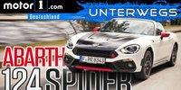 Abarth 124 Spider 2018 im Test: Der bessere MX-5?