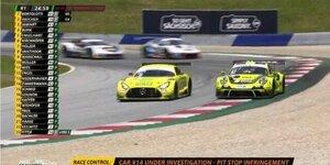 ADAC GT Masters Spielberg: Highlights Rennen 1