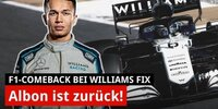 Albons Comeback bei Williams: Was steckt dahinter?