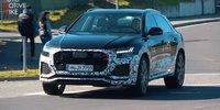Audi RS Q8 testet auf dem Nürburgring
