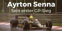 Ayrton Senna - Sein erster Formel-1-Sieg