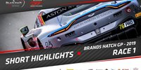 Blancpain GT Brands Hatch: Highlights Rennen 1
