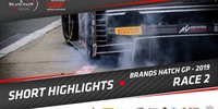 Blancpain GT Brands Hatch: Highlights Rennen 2
