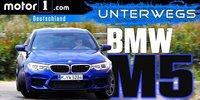 BMW M5 2018 im Test: Sind 600 PS genug?