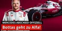 Bottas verlässt Mercedes: 2022 bei Alfa Romeo!