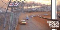 Bristol: Logano gewinnt Dirt-Track-Comeback