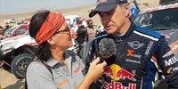 Carlos Sainz über seine schwierige Dakar