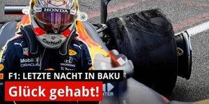 Crash in Baku: Drama um Verstappen & Hamilton!