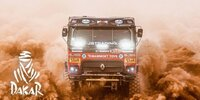 Dakar-Highlights 2021: Etappe 10 - Trucks