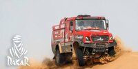 Dakar-Highlights 2021: Etappe 11 - Trucks