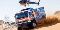 Dakar-Highlights 2021: Etappe 2 - Trucks