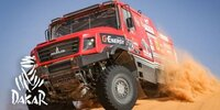 Dakar-Highlights 2021: Etappe 3 - Trucks