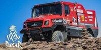 Dakar-Highlights 2021: Etappe 4 - Trucks