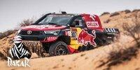 Dakar-Highlights 2021: Etappe 8 - Autos