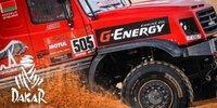 Dakar-Highlights 2021: Etappe 8 - Trucks