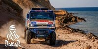 Dakar-Highlights 2021: Etappe 9 - Trucks