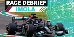Das sind Mercedes' Lektionen aus Imola 2021