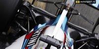 Das Y-Profil auf der Heckflosse des Williams FW41