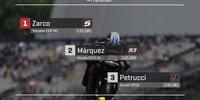Die MotoGP-Startaufstellung in Le Mans