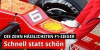 Die zehn hässlichsten Siegerautos der Formel-1-Geschichte