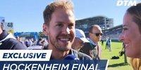 DTM Hockenheim: Interview Sebastian Vettel
