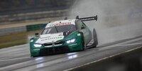 DTM Lausitzring 2 2020: Glock-Dreher im nassen Qualifying