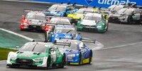 DTM Lausitzring 2 2020: Regenreifen-Wechselspiel in Rennen 1