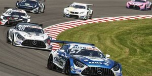 DTM Lausitzring 2021: Steilkurven-Action in Rennen 1