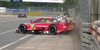 DTM Norisring: Rasts Qualifying-Crash