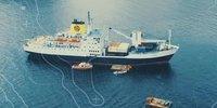 Ein Schiff als Extreme E-Paddock