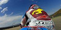 Eine Runde mit Alex Marquez in Aragon