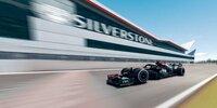 Eine virtuelle Onboardrunde in Silverstone
