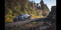 Einzigartige Bilder: Rallye Wales aus Drohnensicht