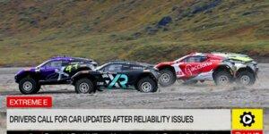Extreme E: Fahrer fordern Zuverässigkeits-Updates