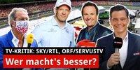F1 live im TV: Wer macht's am besten?