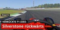 F1-Simulation: Eine Runde rückwärts in Silverstone