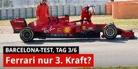 F1-Tests 2020 Barcelona: Sind Sebastian Vettel & Ferrari nur dritte Kraft?