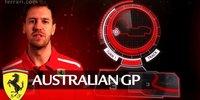 Ferrari in Melbourne: Kurve 3 gut zum überholen