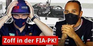 FIA-PK: Verstappen attackiert Mercedes!