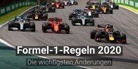 Formel 1 2020: Die wichtigsten Regeländerungen